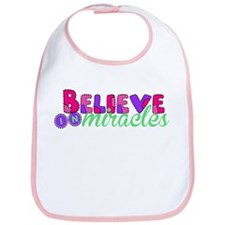 Believe in Miracles Bib