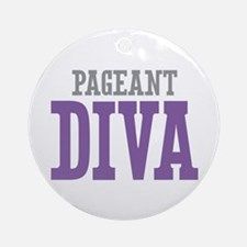Pageant DIVA Ornament (Round)
