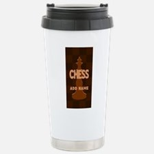 King of Chess Stainless Steel Travel Mug
