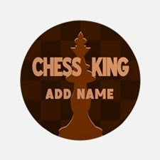 """King of Chess 3.5"""" Button"""