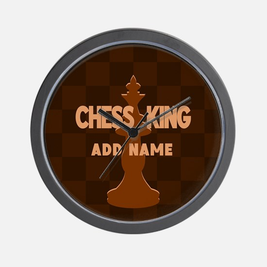 King of Chess Wall Clock