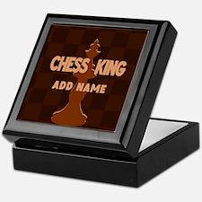 King of Chess Keepsake Box