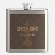 King of Chess Flask
