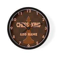 Cute Chess game Wall Clock