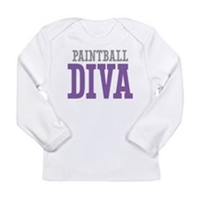 Paintball DIVA Long Sleeve Infant T-Shirt