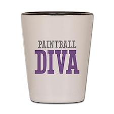 Paintball DIVA Shot Glass