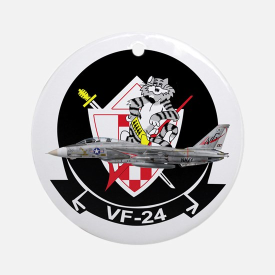VF-24 Fighting Renegades Ornament (Round)