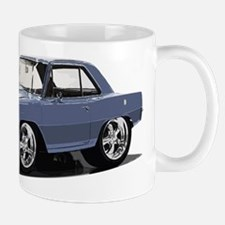 BabyAmericanMuscleCar_66NovA_grey Mugs