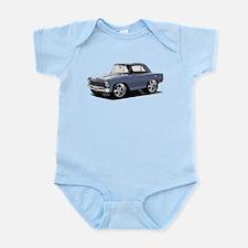 BabyAmericanMuscleCar_66NovA_grey Body Suit