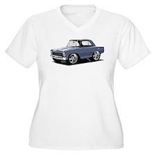 BabyAmericanMuscleCar_66NovA_grey Plus Size T-Shir