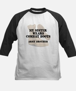 Army Brother Sister wears DCB Baseball Jersey