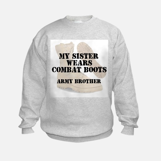 Army Brother Sister wears DCB Sweatshirt