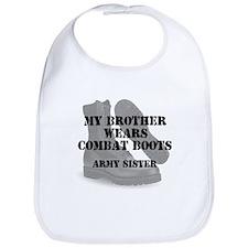 Army Sister Brother wears CB Bib