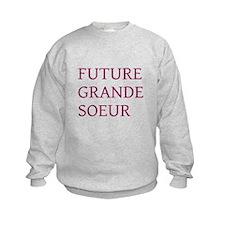 Sweatshirt Future grande soeur