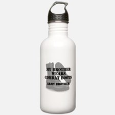 Army Brother wears CB Water Bottle