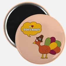 I Heart Tofurkey Magnets