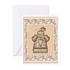 GUARDIAN COUNTRY ANGEL Greeting Cards (Package of