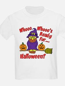 Owl Halloween Who T-Shirt