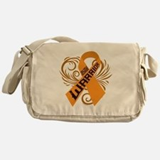 Multiple Sclerosis Warrior Messenger Bag