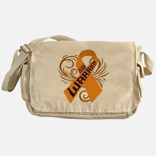 Multiple Sclerosis Warrior Messenger Bag
