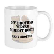 Army Brother wears DCB Mugs