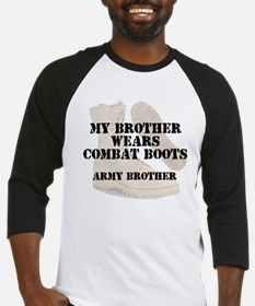 Army Brother wears DCB Baseball Jersey
