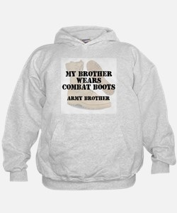 Army Brother wears DCB Hoodie
