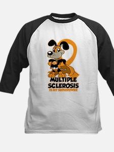 Multiple Sclerosis Superpower Kids Baseball Jersey