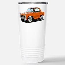 BabyAmericanMuscleCar_66NovA_Orange Travel Mug