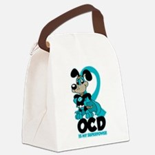 OCD Is My Superpower Canvas Lunch Bag