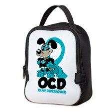 OCD Is My Superpower Neoprene Lunch Bag