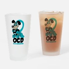 OCD Is My Superpower Drinking Glass