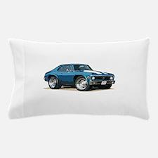 BabyAmericanMuscleCar_70NovA_Blue Pillow Case