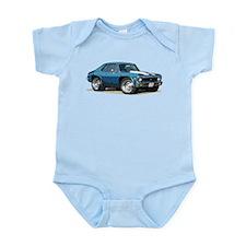BabyAmericanMuscleCar_70NovA_Blue Body Suit