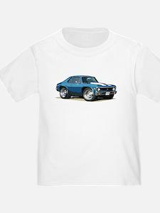 BabyAmericanMuscleCar_70NovA_Blue T-Shirt