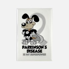 Parkinsons Is My Superpower Rectangle Magnet