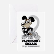 Parkinsons Is My Superpower Greeting Card