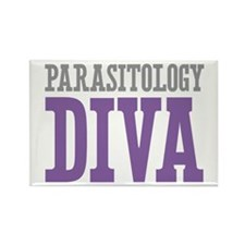 Parasitology DIVA Rectangle Magnet (10 pack)