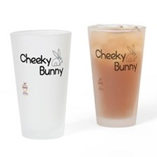 Cheeky Bunny Drinking Glass