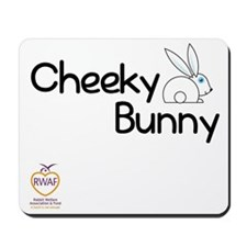 Cheeky Bunny Mousepad