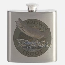 Brown trout Flask