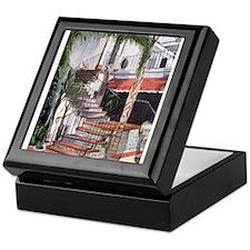 Bakersfield Inn Stairs Keepsake Box