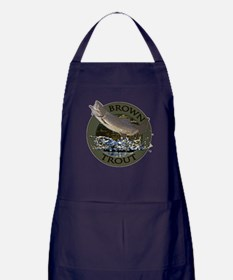 Brown trout Apron (dark)