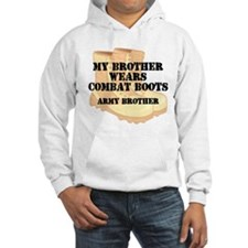 Army Brother Desert Combat Boots Hoodie
