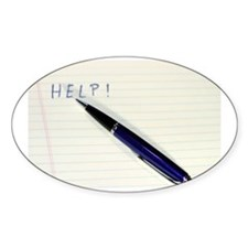 Pen Help Decal