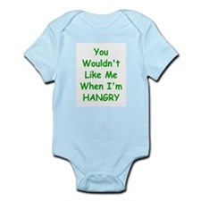 You Wouldn't Like Me When I'm Hangry Body Suit