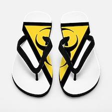 Biohazard Flip Flops