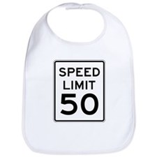 Speed Limit 50 Bib