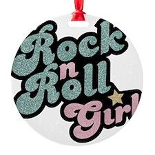 Rock N Roll Girl Ornament