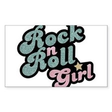 Rock N Roll Girl Decal
